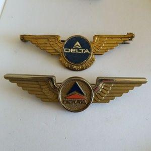 Vintage Junior Pilot wings 1 metal